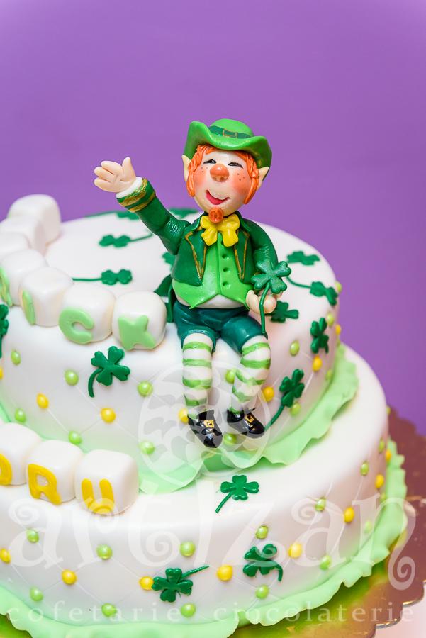 "Tort de Botez – ""Leprechaun"""