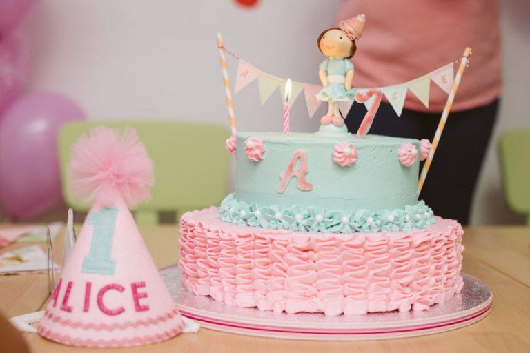 Tort aniversar – Alice 1 an