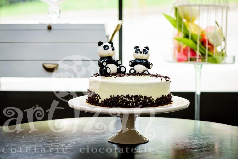"Tort aniversar – ""Panda Twins"""