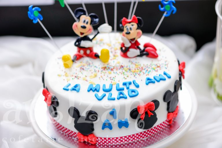 Tort aniversar – Minnie & Mickey