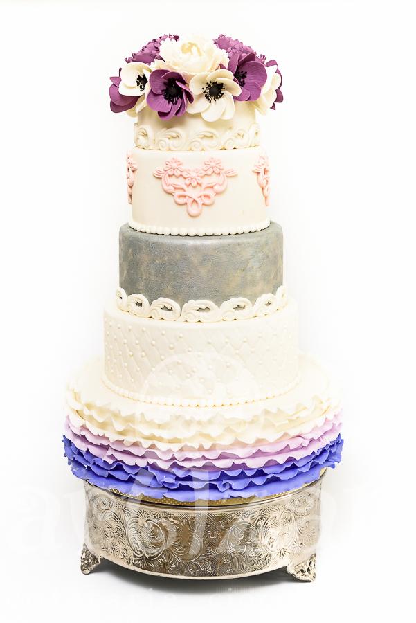"""Tort de nunta """"Purple Romance"""""""
