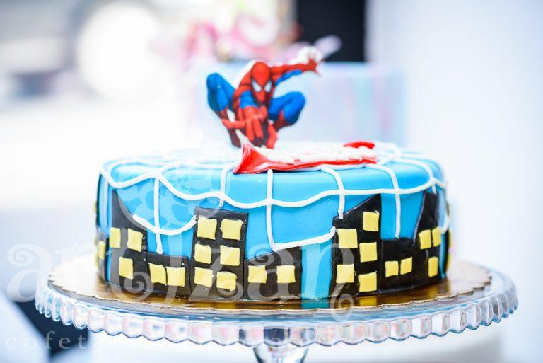 "Tort Aniversar – ""Spiderman"""