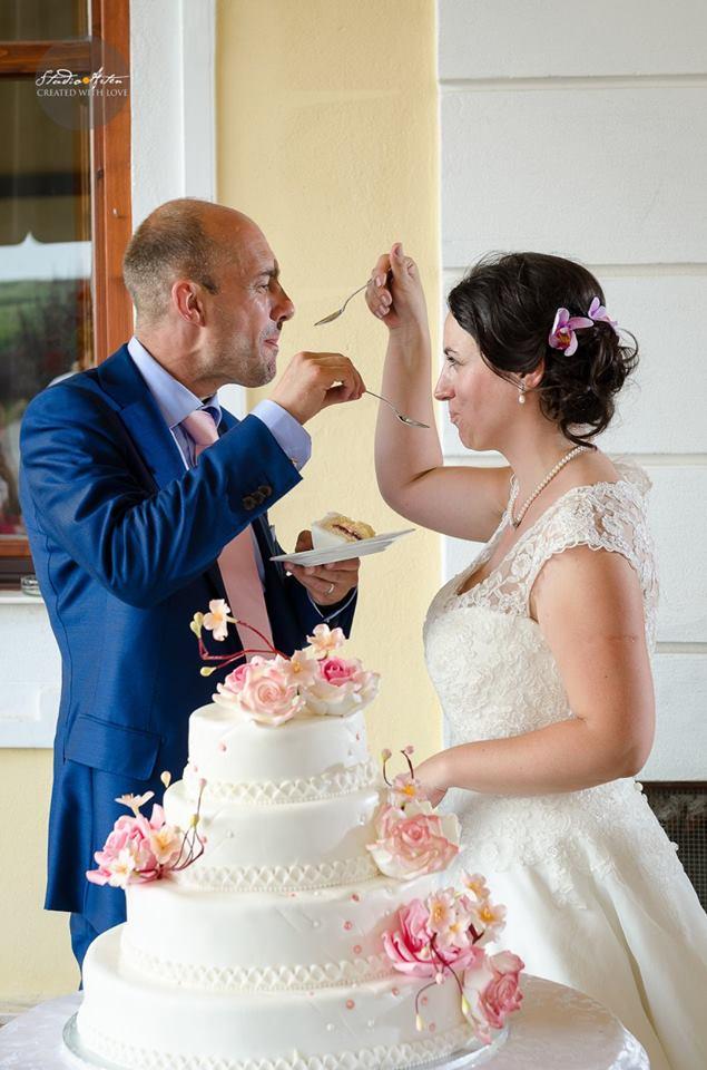 "Tort de nunta ""Summer Bloom"""
