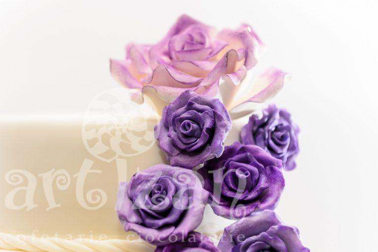 "Tort de nunta ""Sweet Rose"""
