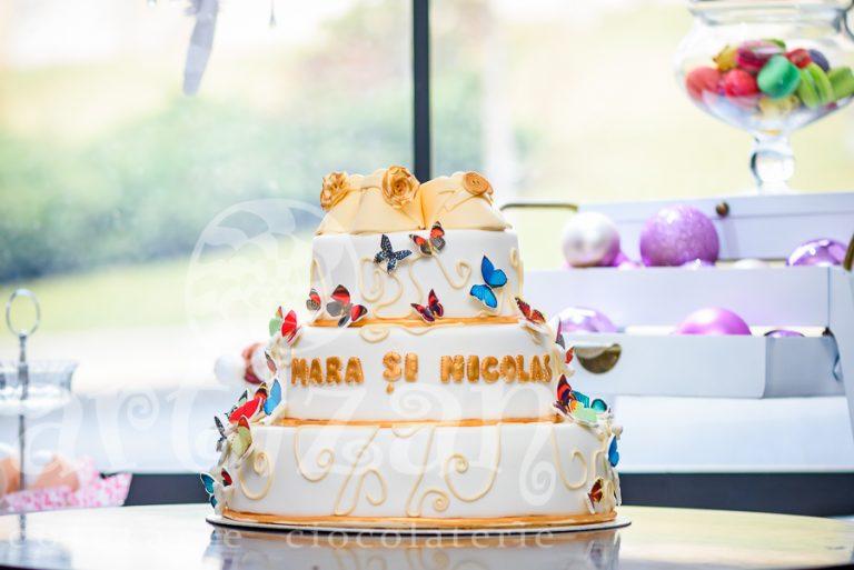 "Tort de Botez – ""Mara si Nicolas"""