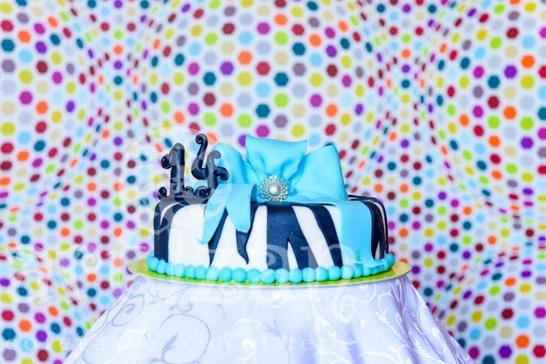 Tort Aniversar – Blue Bow