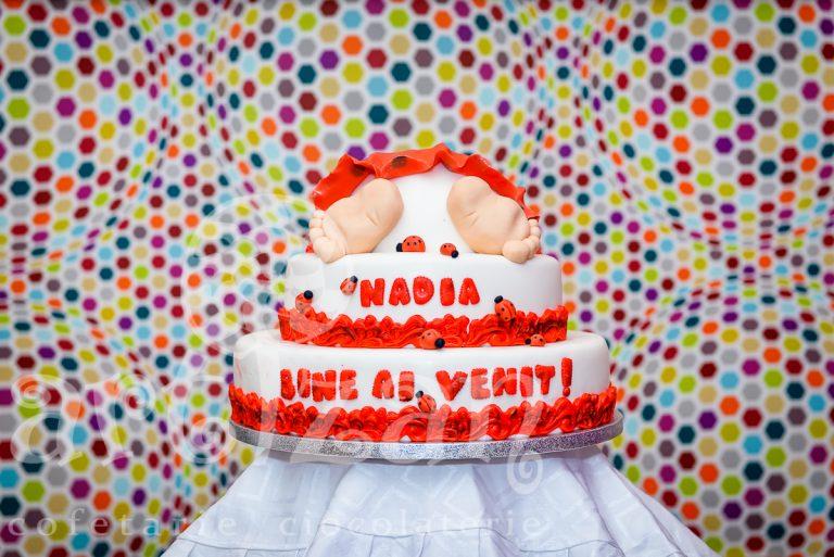 """tort de botez """"nadia"""""""