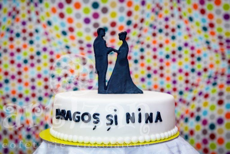 """Tort de Nunta """"Silhouette"""""""