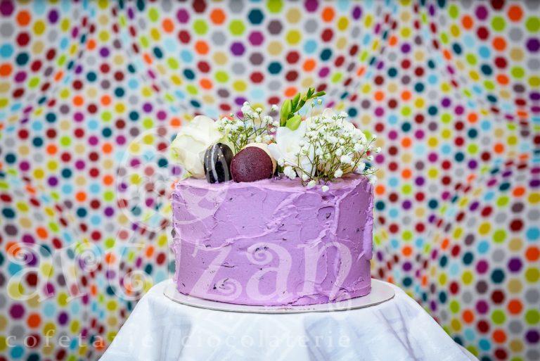 "tort aniversar – ""violet"""