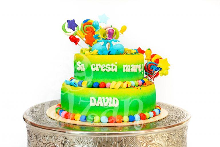 """Tort de Botez """"David"""""""