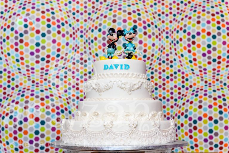 "Tort de Botez ""Mickey & Minnie"""