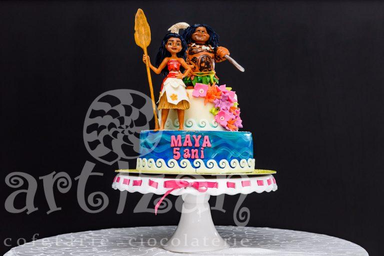 """Tort Aniversar """"Moana/Vaiana"""""""