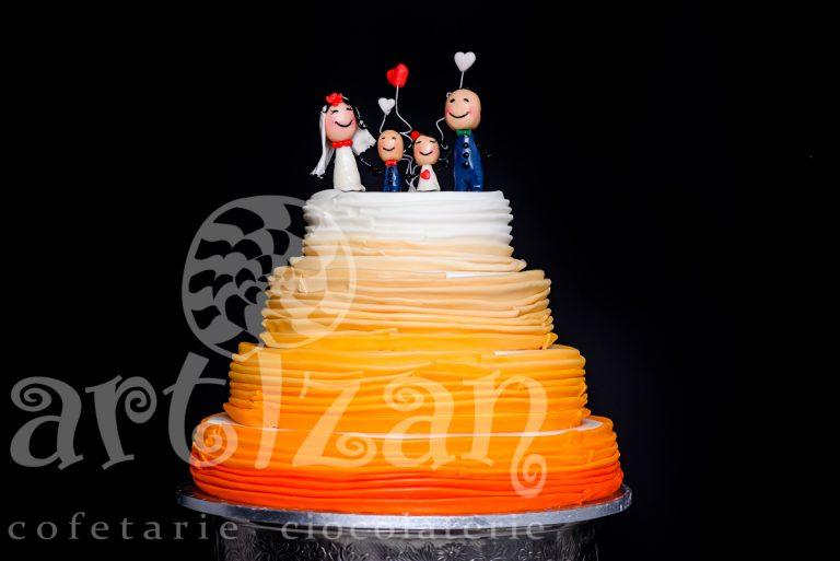 """Tort de Nunta """"Happy Family"""""""