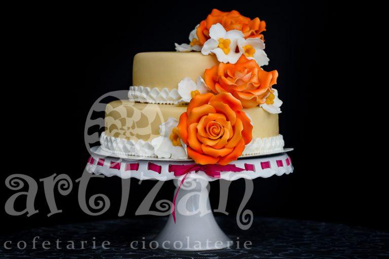 """Tort """"Orange Rose"""""""