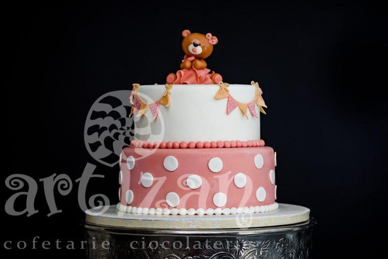 """Tort de Botez """"Teddy"""""""