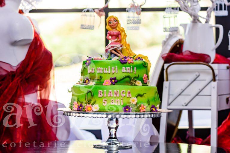 """Tort Aniversar """"Rapunzel"""""""