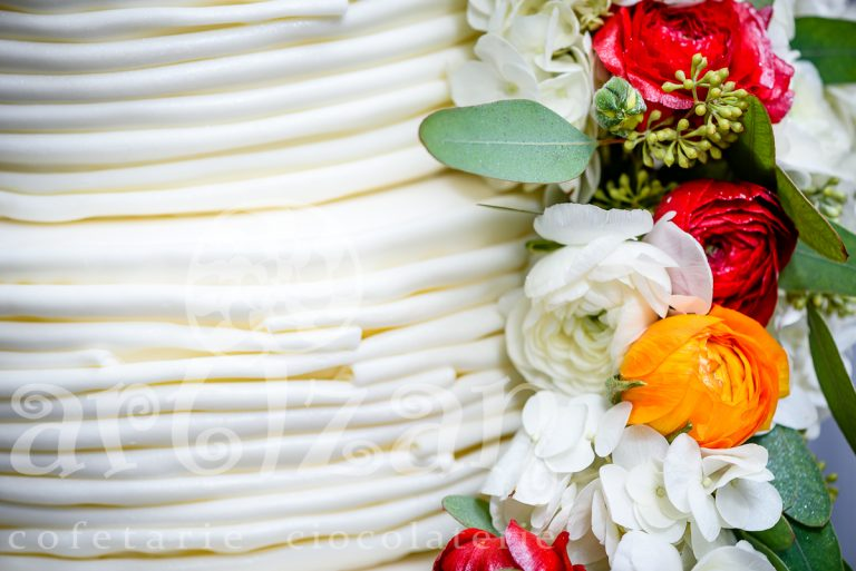 """Tort de Nunta """"Floral Wedding"""" 1"""