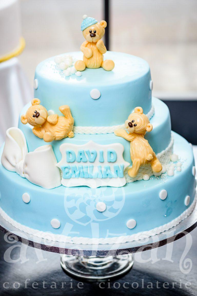 "Tort de Botez ""David Emilian"" 1"