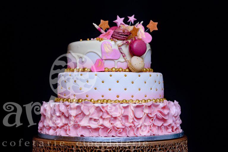 "Tort de Botez ""Pink"""