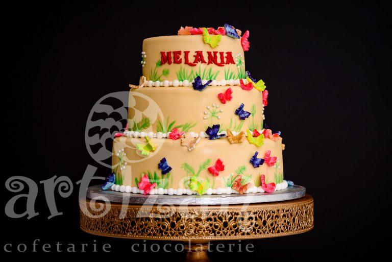 """Tort de Botez """"Melania"""""""