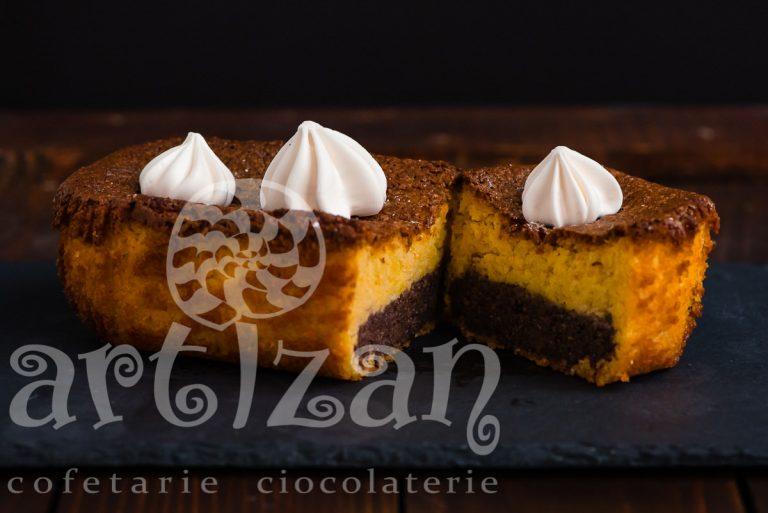 Prajitură de migdale cu ciocolată și portocale (fără gluten)