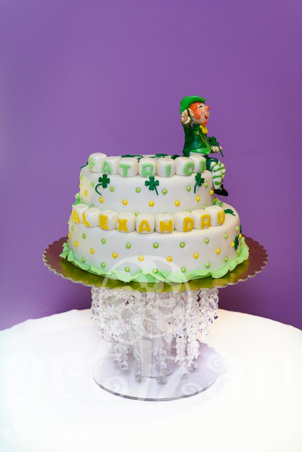 "Tort de Botez – ""Leprechaun"" 1"