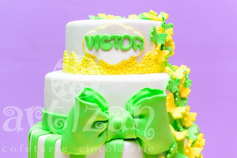 """Tort de Botez – """"Victor"""" 1"""