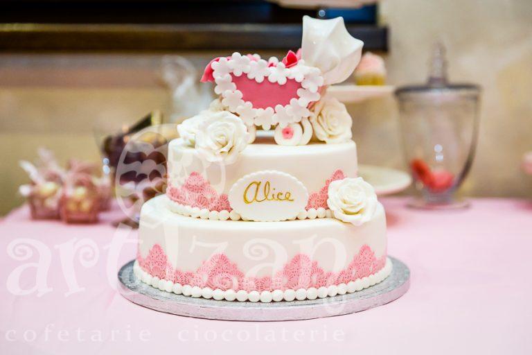 """Tort de Botez – """"Alice"""""""