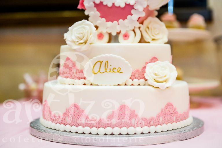 """Tort de Botez – """"Alice"""" 1"""