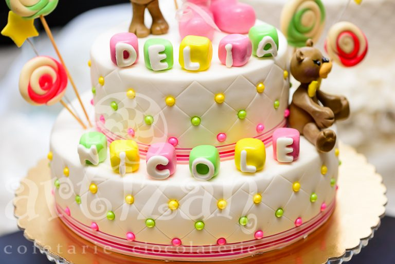 "Tort de Botez ""Delia Nicole"" 1"