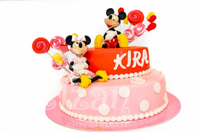 """Tort Aniversar – """"Mickey & Minnie"""" 1"""