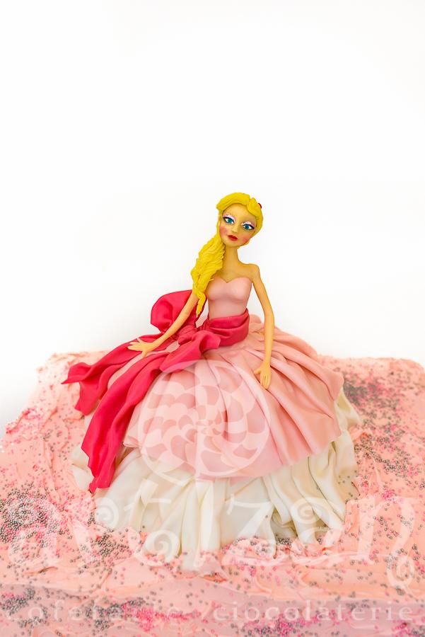 "Tort Aniversar – ""Barbie"" 1"