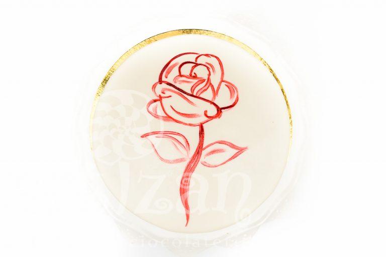 Tort glazurat – Red Rose