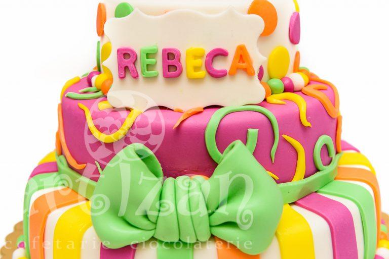 "Tort Aniversar – ""Rebeca"" 1"