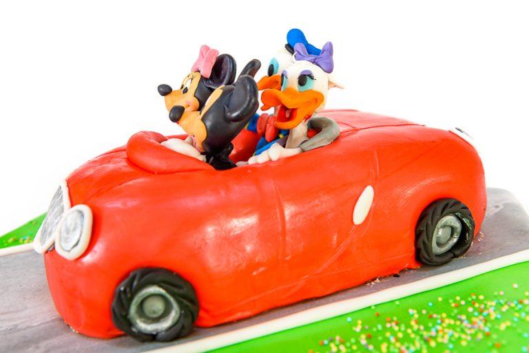 "Tort Aniversar – ""Mickey & Donald Family"" 1"