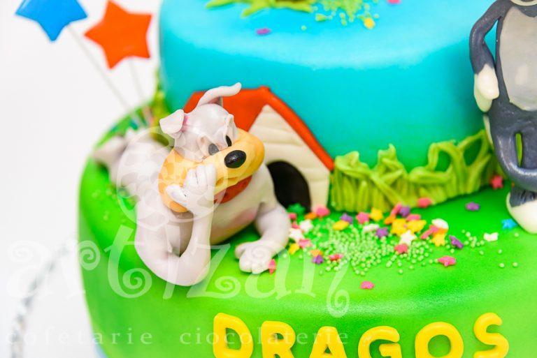 Tort aniversar – Dragos 4 ani 1