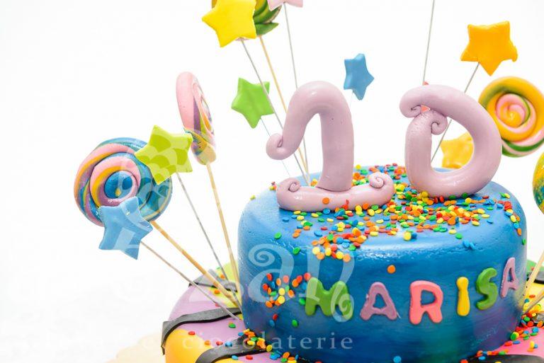 Tort aniversar – Marisa 10 ani