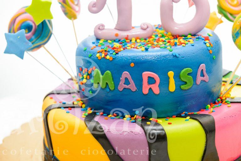 Tort aniversar – Marisa 10 ani 1