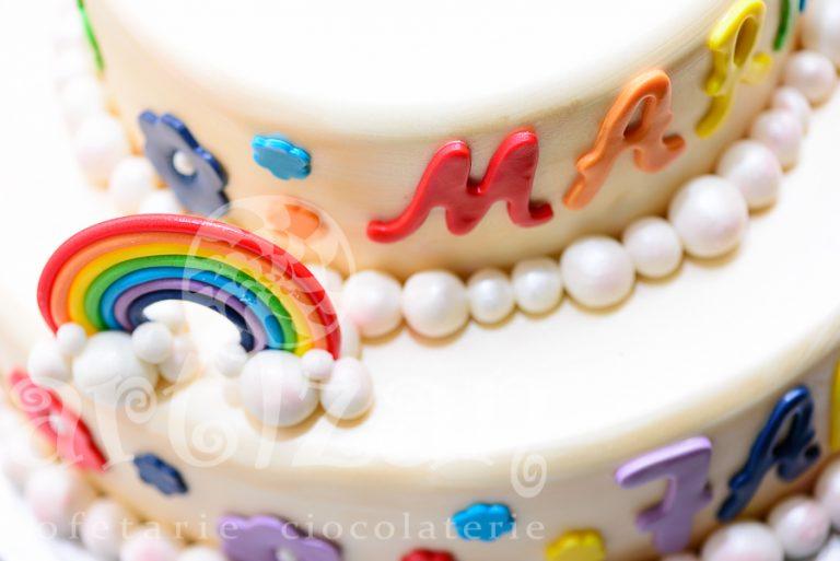 Tort aniversar – Rainbow 1