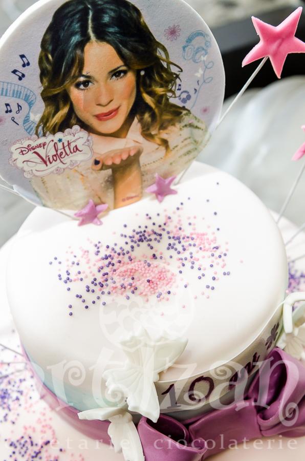 Tort cu Violetta 1