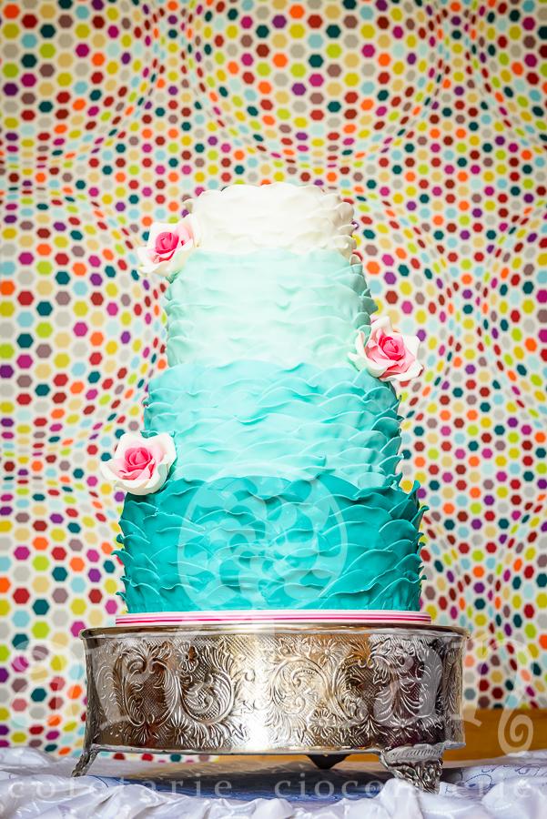 """Tort de nunta """"Aqua-Marine"""" 1"""