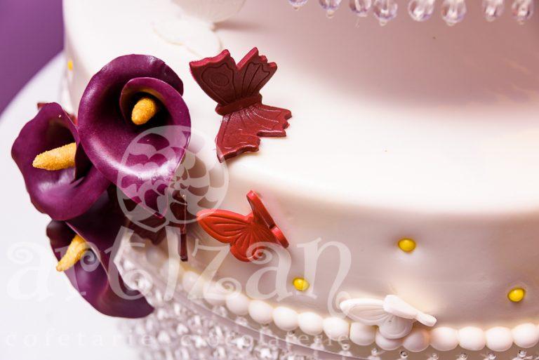 """Tort de nunta """"Callas"""" 1"""