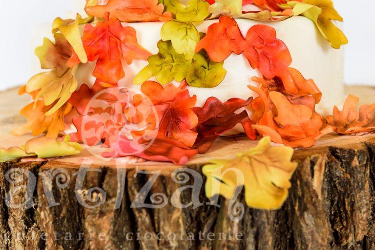 "Tort de nunta ""Rusty Autumn"" 1"