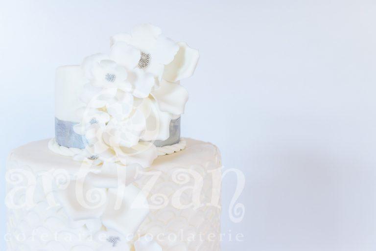 """Tort de nunta """"Silver"""" 1"""