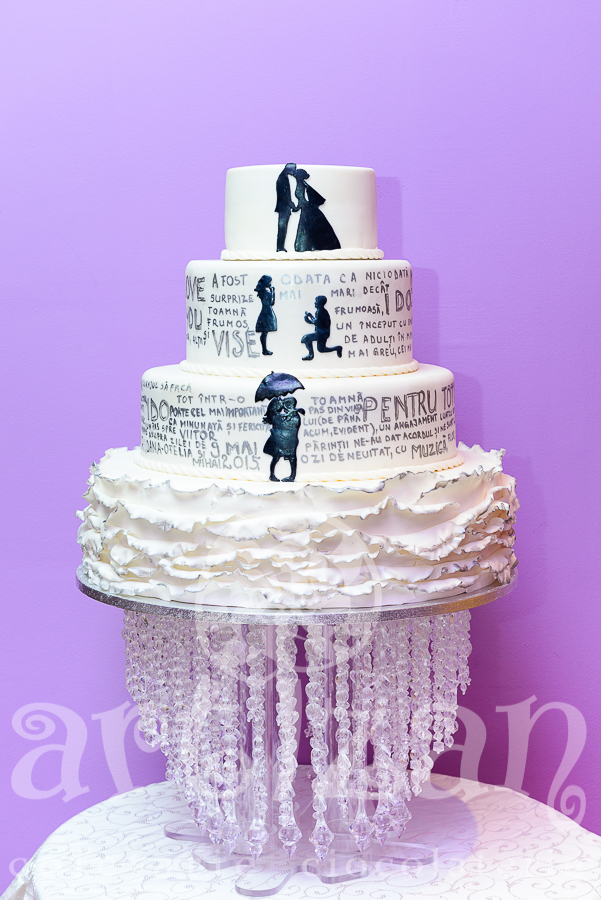 "Tort de nunta ""Poem"""