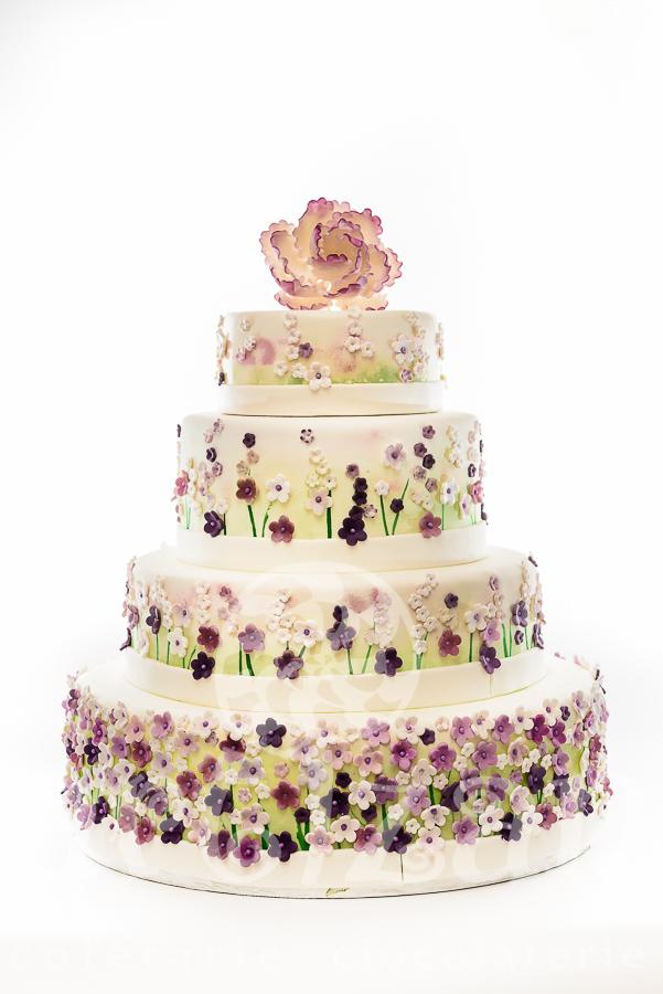 "Tort de nunta ""Spring Flowers"""