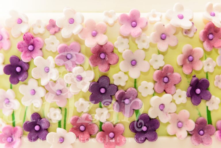 "Tort de nunta ""Spring Flowers"" 1"
