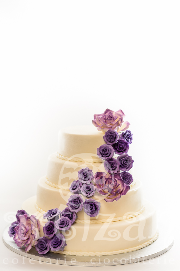 "Tort de nunta ""Sweet Rose"" 1"