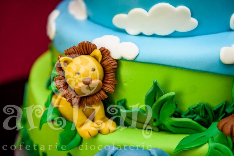 "Tort de Botez – ""Safari"" 1"