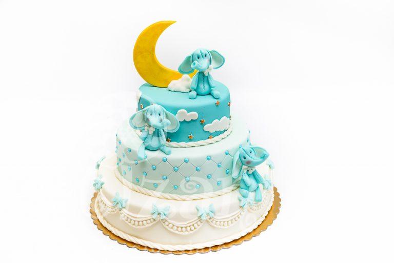 "Tort de Botez – ""Elephants"""